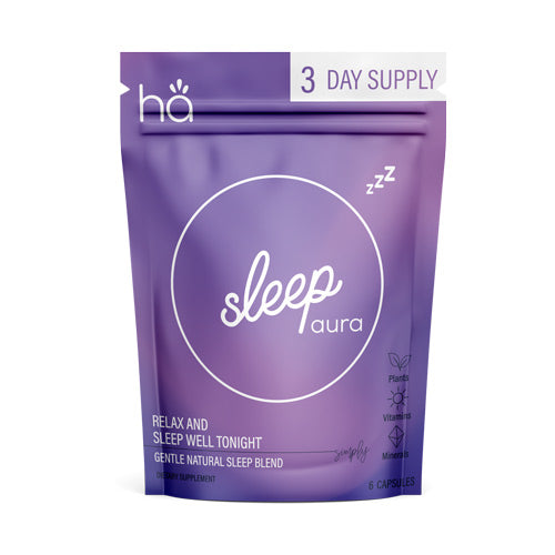 Sleep Aura | 3 Day Supply - Natural Sleep Aid