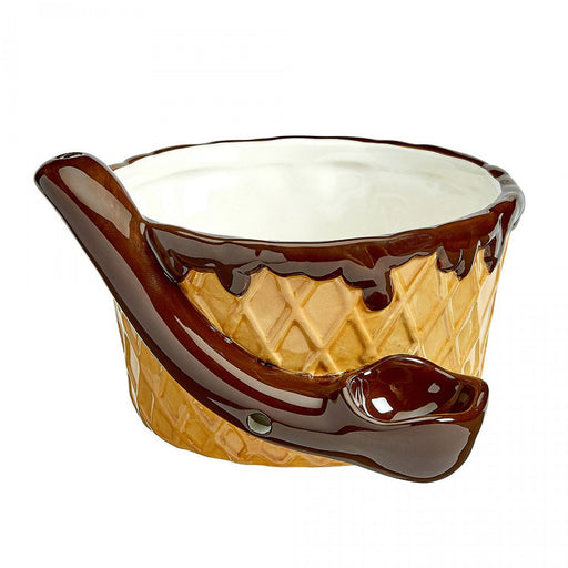 ICE CREAM CERAMIC BOWL PIPE