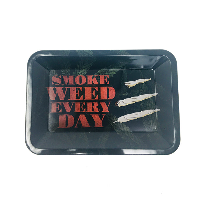 SMOKE WEED EVERY DAY ROLLING TRAY