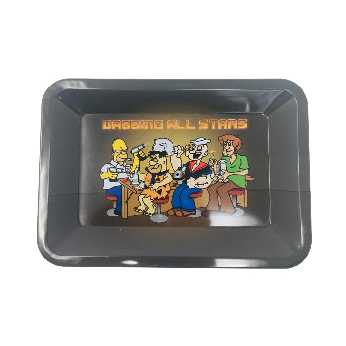 DABBING ALL STARS ROLLING TRAY