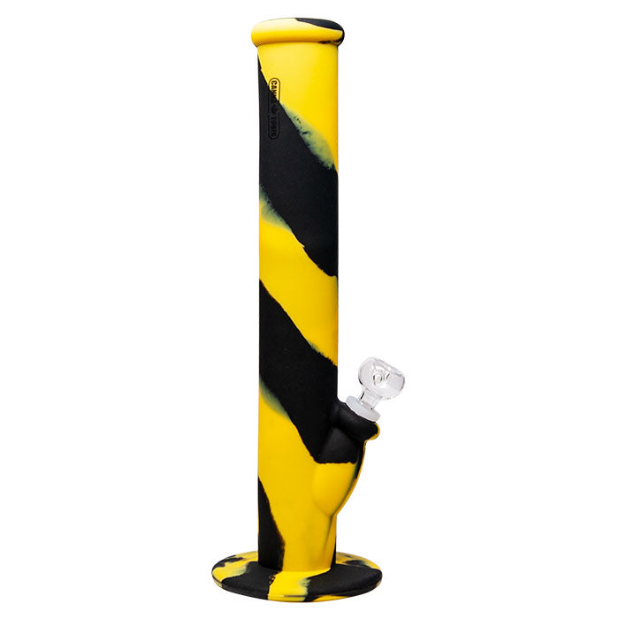 "SILICONE BONG 14"" YELLOW"