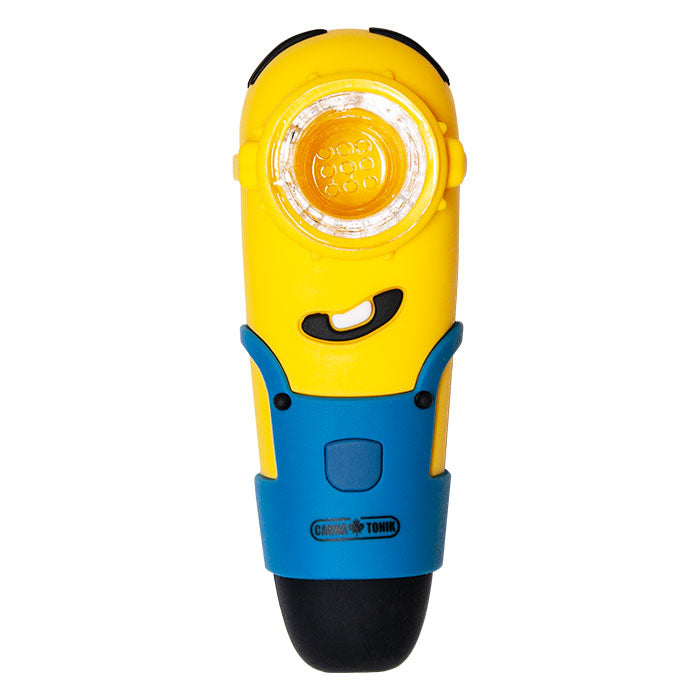 MINIONS SILICONE PIPE - YELLOW