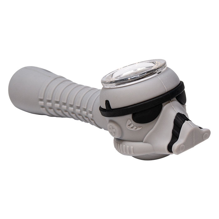 STAR WARS STORMTROOPER SILICONE PIPE - GREY