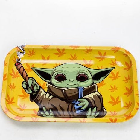 SMOKE ARSENAL YODA BOMB ROLLING TRAY