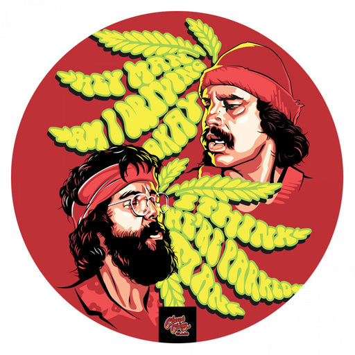 MY DAB MAT - TOMMY & CHEECH 11""