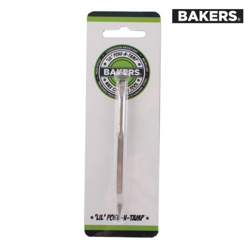 BAKERS TOOLS STAINLESS STEEL – POKE-N-TAMP