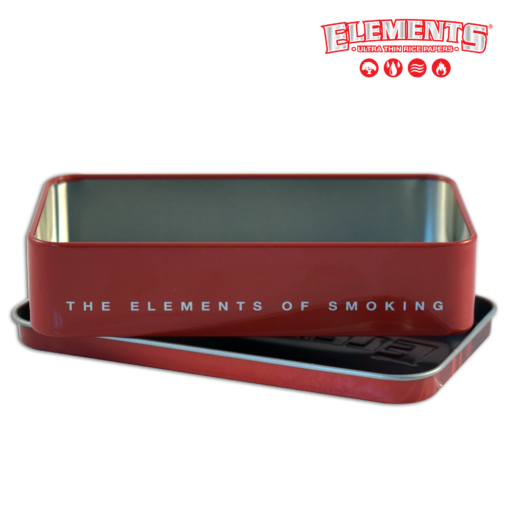 ELEMENTS TIN BOX BLUE OR RED