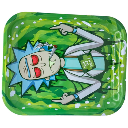 SMOKE ARSENAL RICK THE POLICE ROLLING TRAY