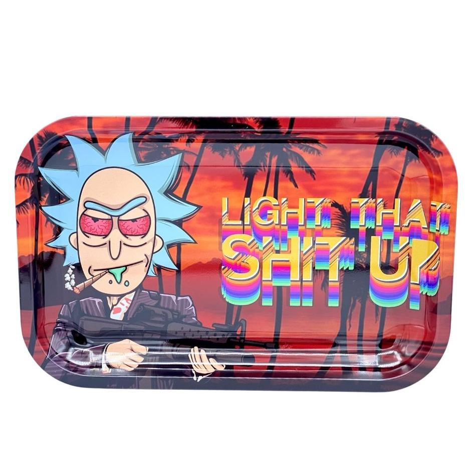 SMOKE ARSENAL LIGHT THAT SHIT UP ROLLING TRAY