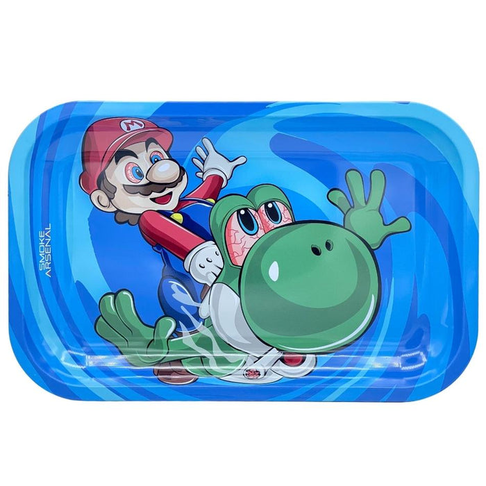 SMOKE ARSENAL SUPER MARIO ROLLING TRAY