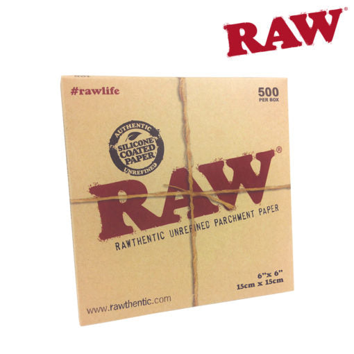 RAW PARCHMENT 6″X6″ SHEETS – 500 PACK