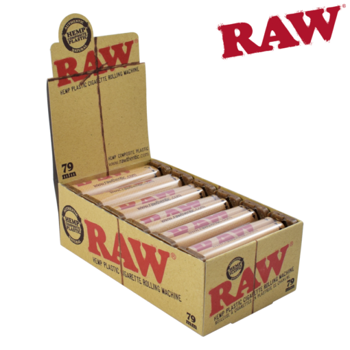 RAW HEMP PLASTIC ROLLING MACHINE 79MM
