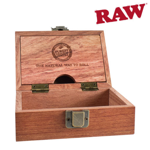 RAW ROSEWOOD DELUXE SMOKERS BOX