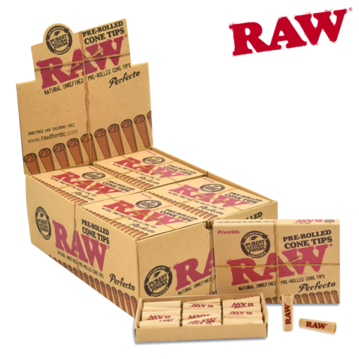 RAW TIPS – PRE-ROLLED CONE PERFECTO