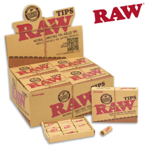 RAW TIPS – PRE-ROLLED