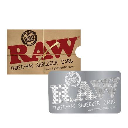 RAW 3-WAY SHREDDER/GRINDER CARD