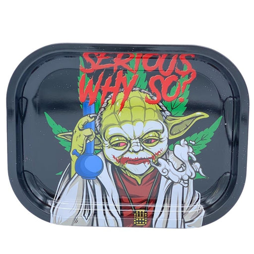 SMOKE ARSENAL SERIOUS WHY SO ROLLING TRAY