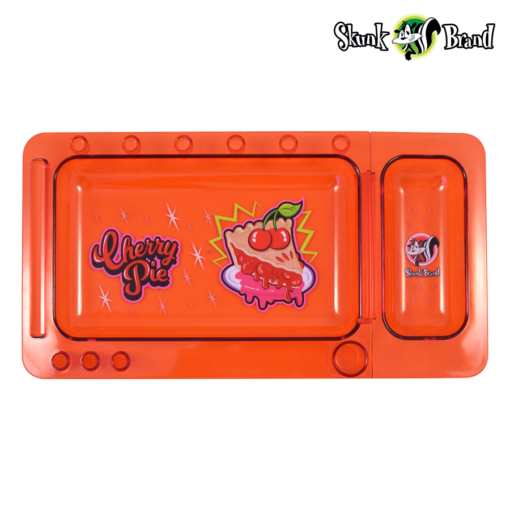 SKUNK TRANSLUCENT CHERRY PIE ROLLING TRAY