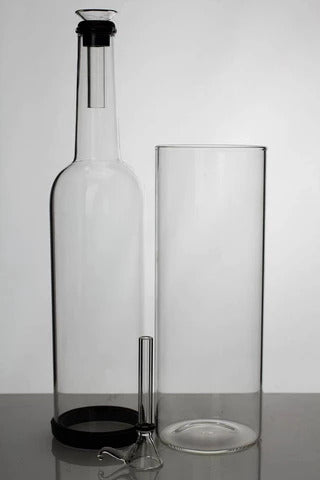GRAVITY GLASS BONG - 12""