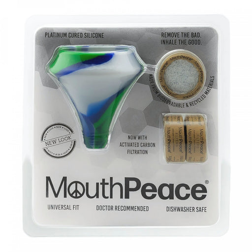 MOOSELABS SILICONE MOUTHPEACE - STARTER KIT - VARIOUS COLOURS