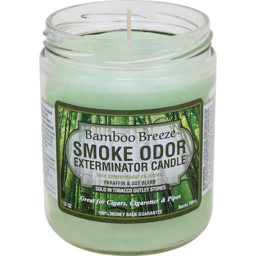 SMOKE ODOR EXTERMINATOR CANDLE - BAMBOO BREEZE