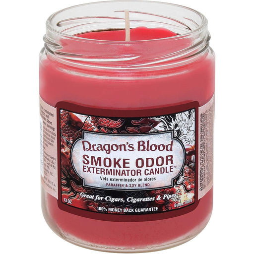 SMOKE ODOR EXTERMINATOR CANDLE - DRAGON'S BLOOD