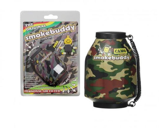 SMOKE BUDDY PERSONAL AIR FILTER - CAMO