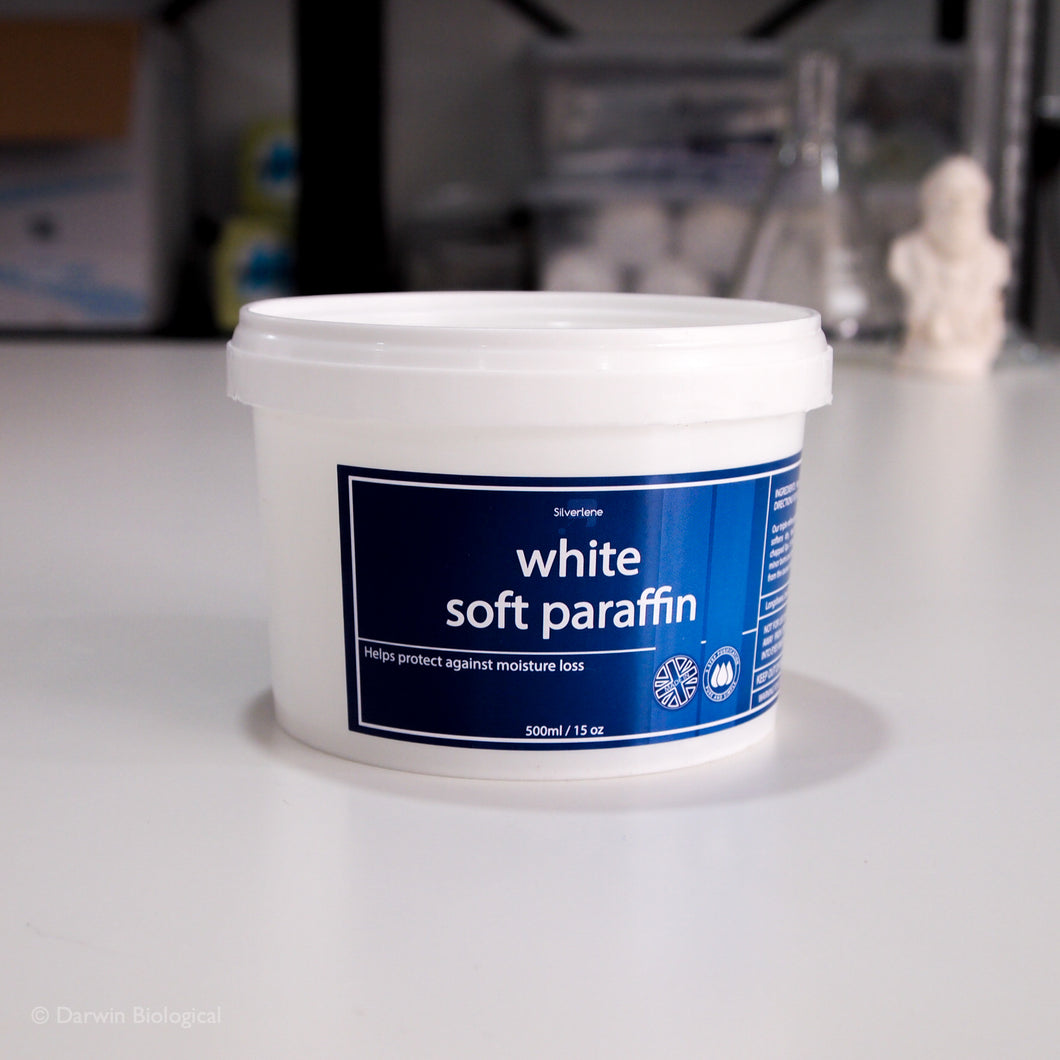 Soft White Paraffin Petroleum Jelly in 500g Tub