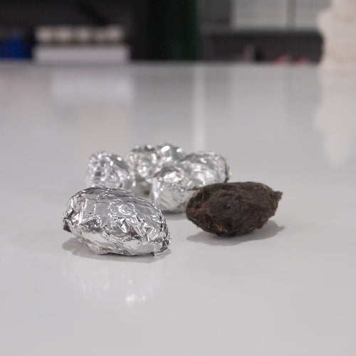 Owl Pellets in foil