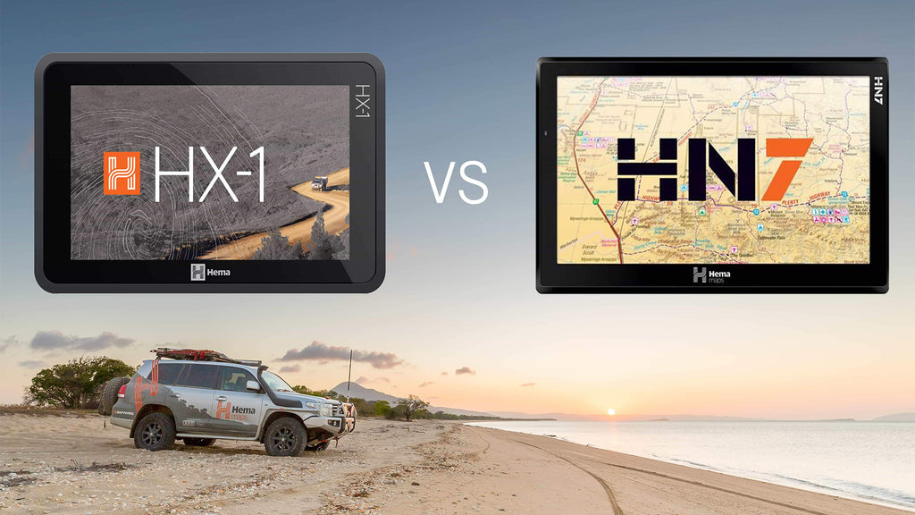 Hema HX-1 vs HN7 Navigator Comparison Review