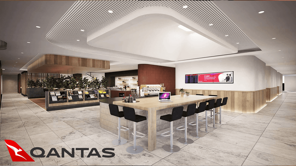 Perth Qantas Business Class Lounge Review - Terminal 4
