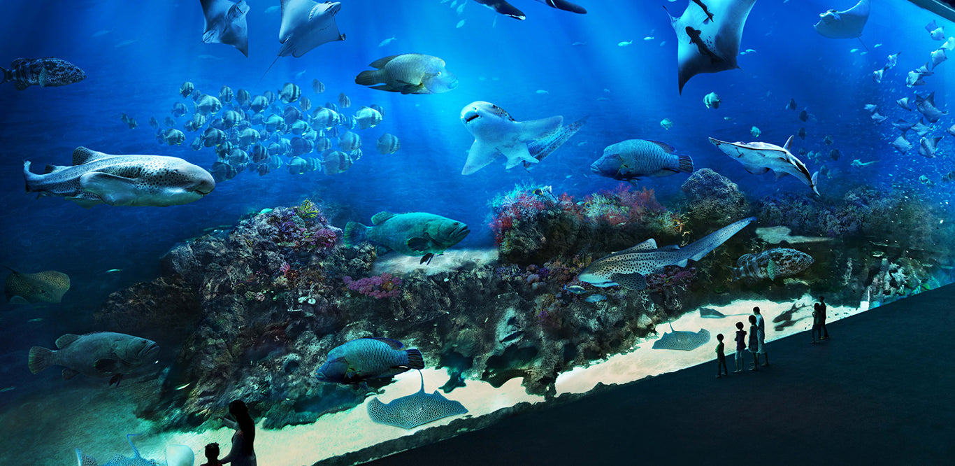 S.E.A. Aquarium Sentosa Singapore