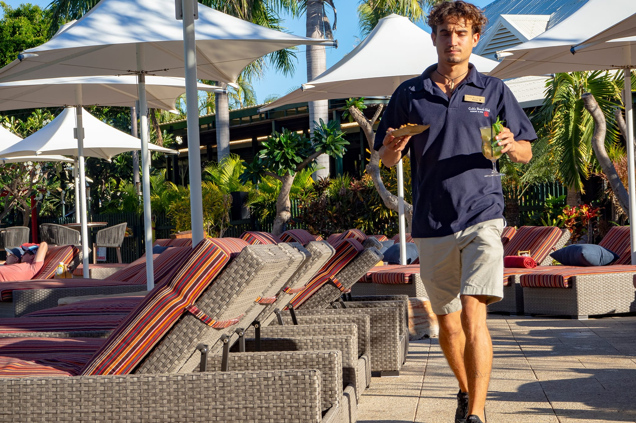 Cable Beach Club pool service