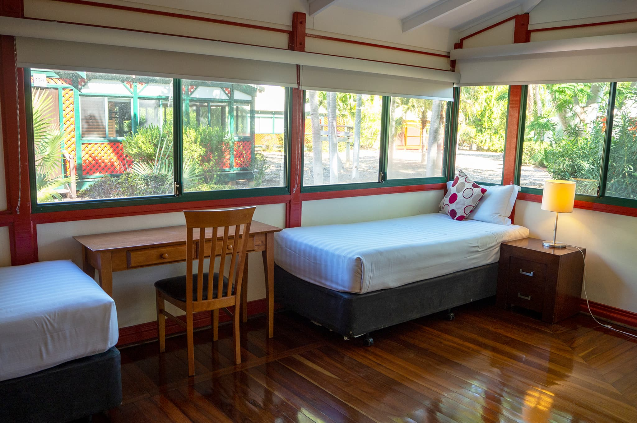 Cable Beach Club bungalow bedroom