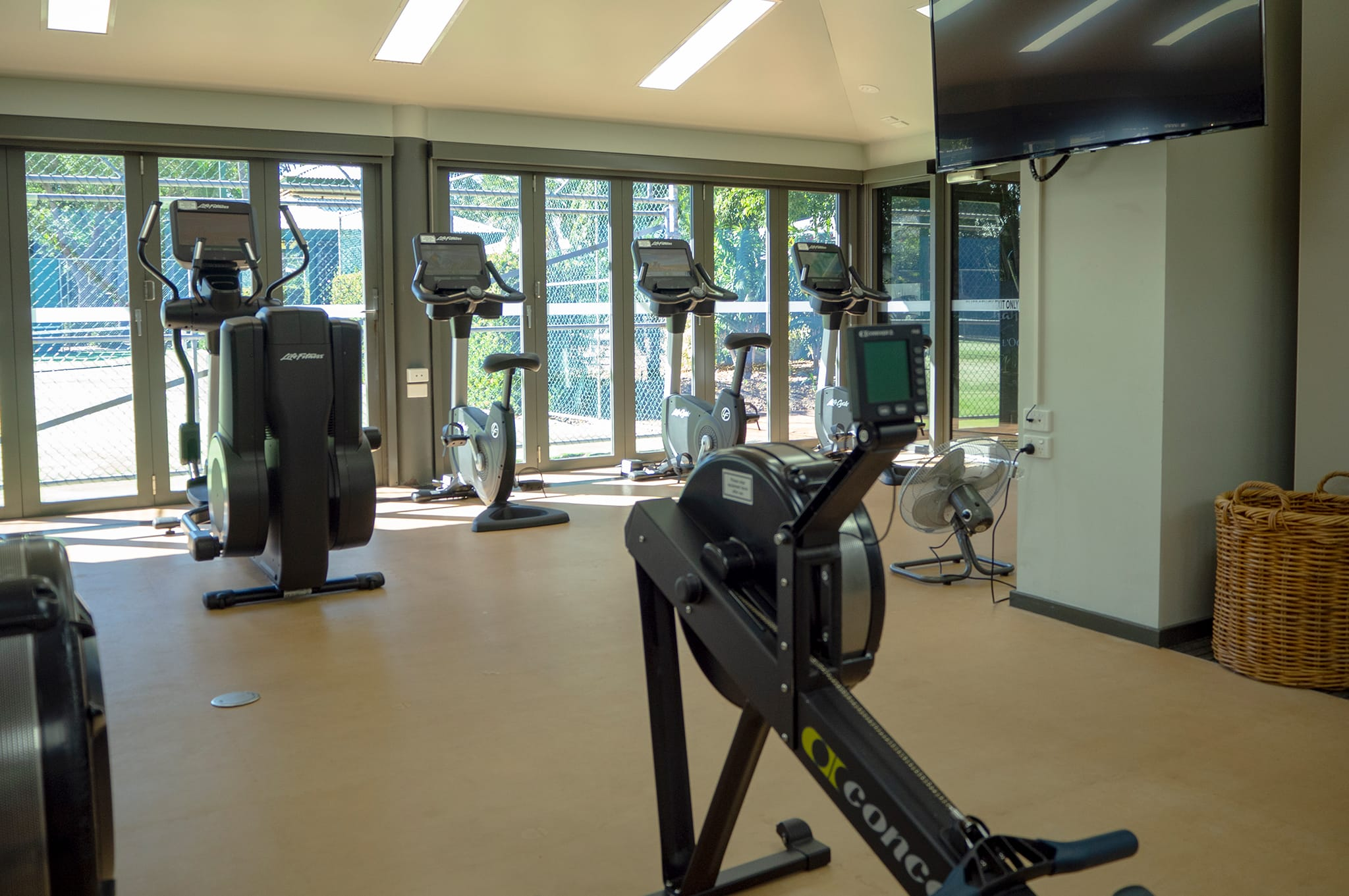 Cable Beach Club gym