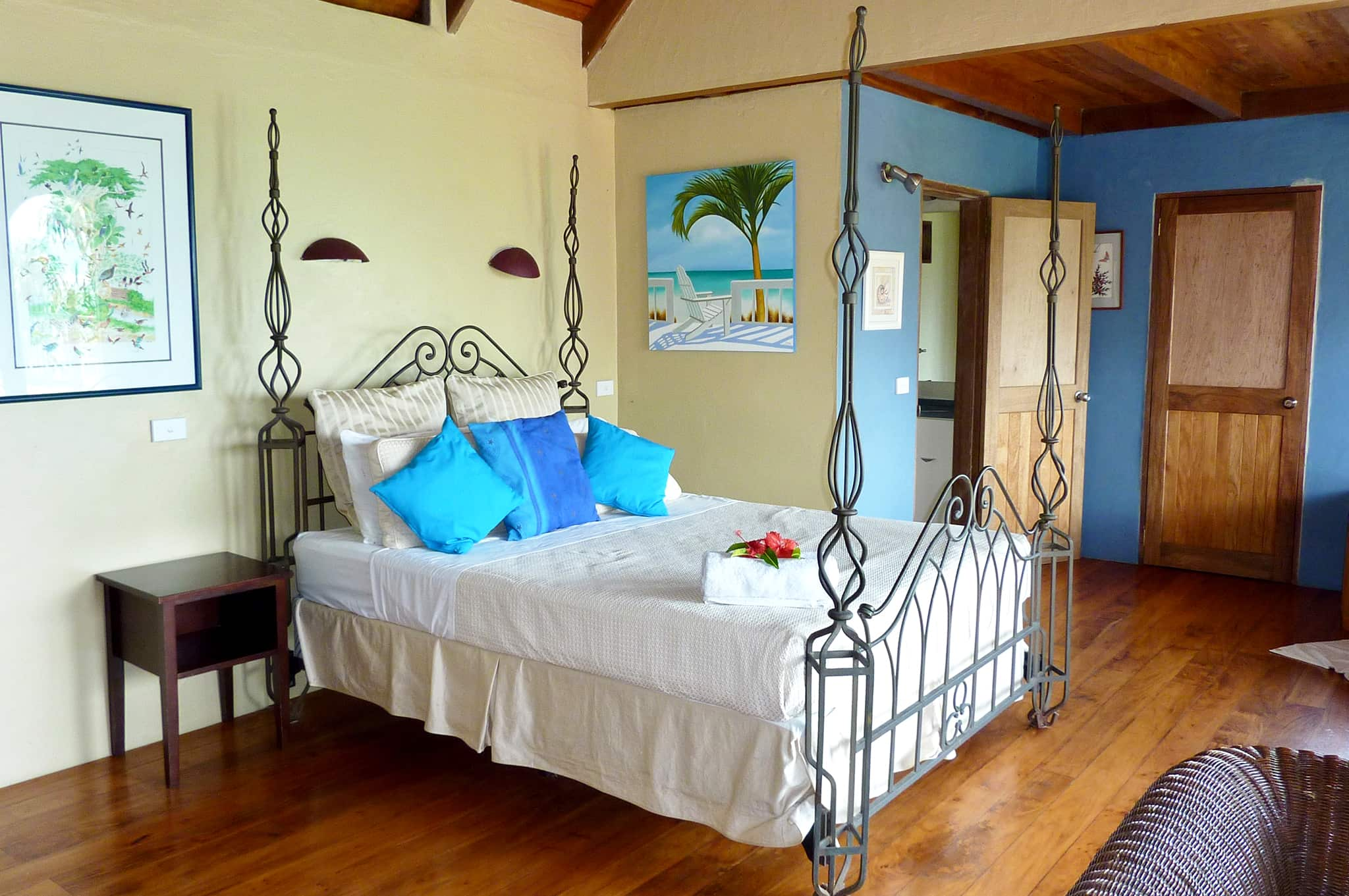 hideaway island resort private villa master suite