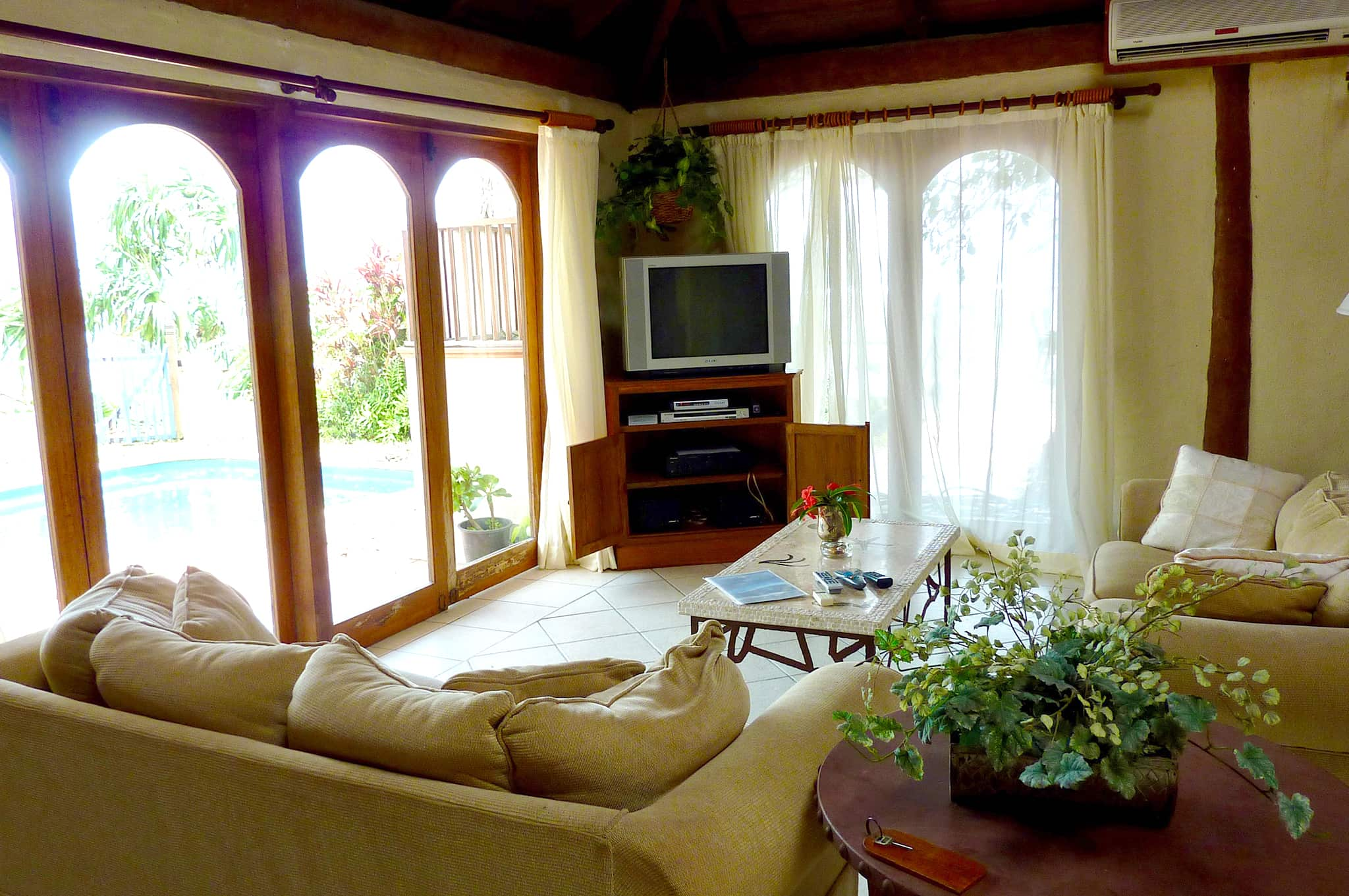 hideaway island resort Vanuatu private villa sitting room
