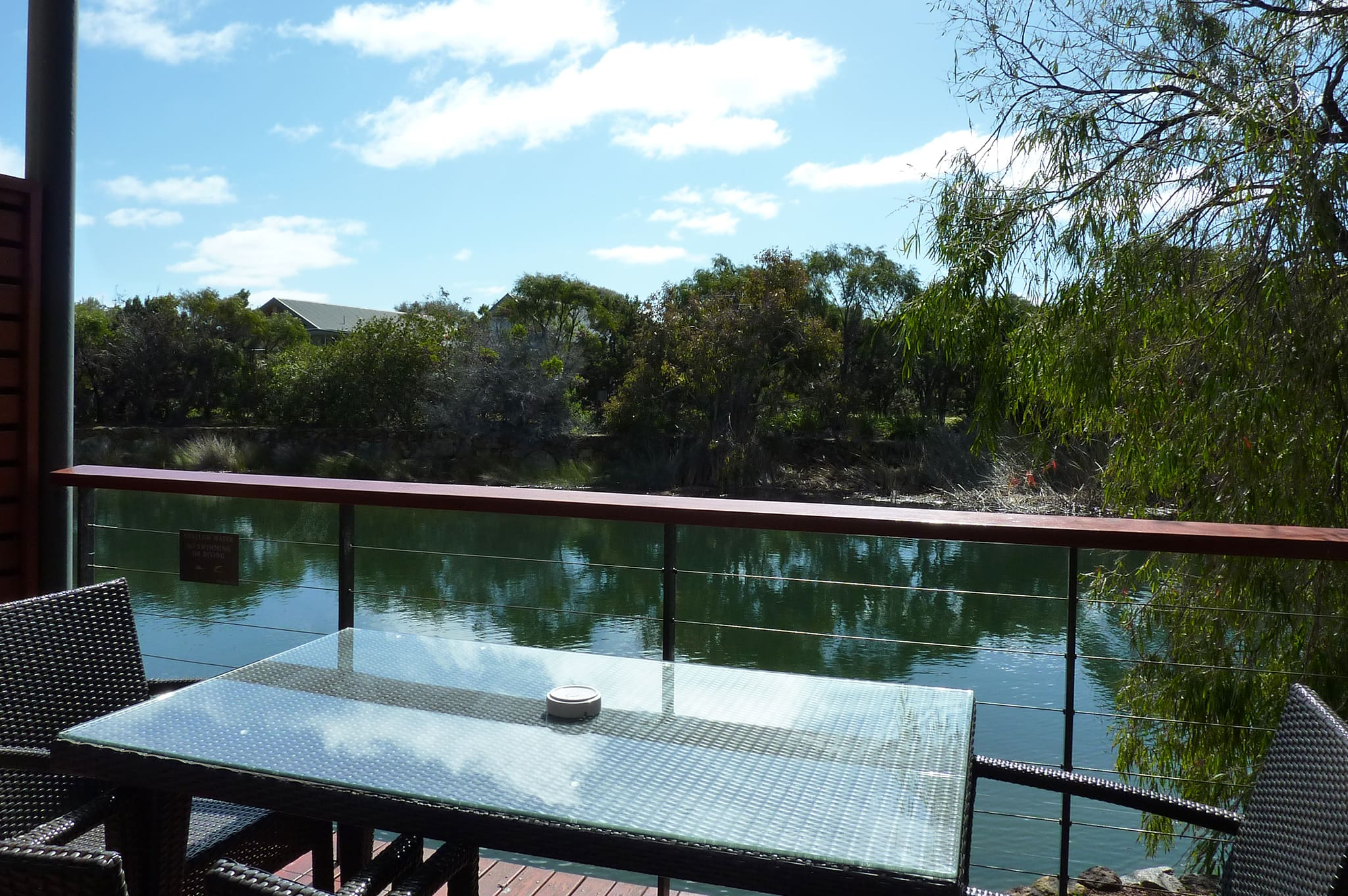 Pullman Bunker Bay Resort Margaret River Lake Villa Verandah