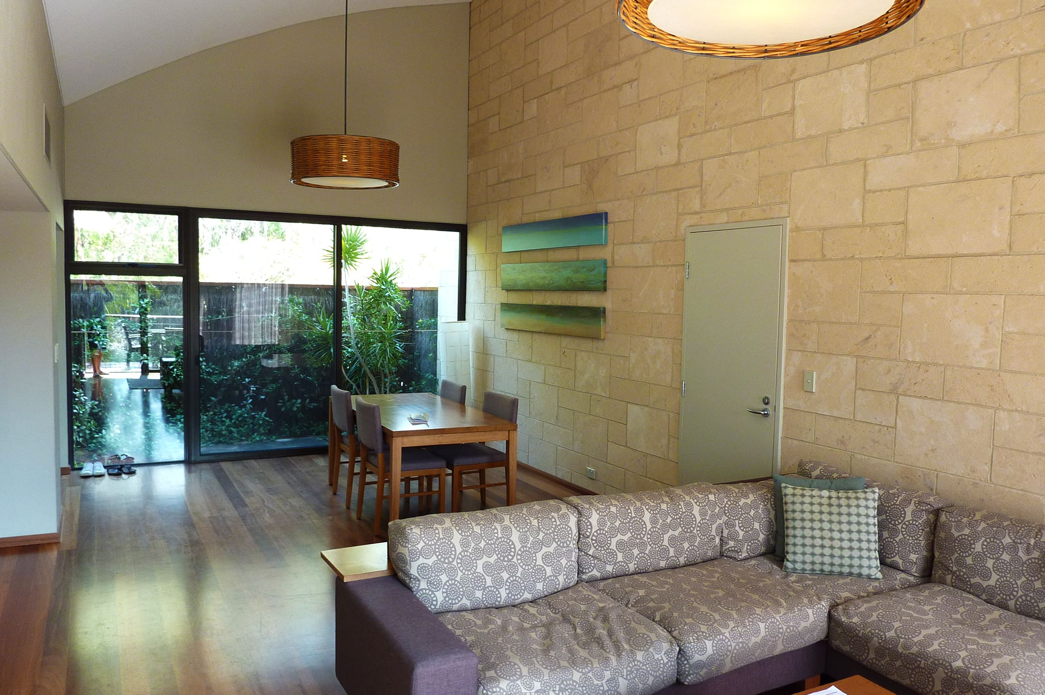 Pullman Bunker Bay Resort Margaret River Lake Villa Living Room