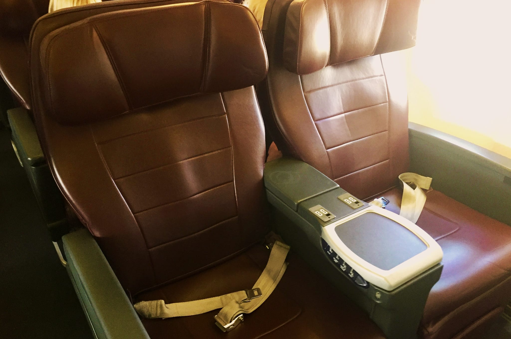 Qantas 737 Business Class Seats