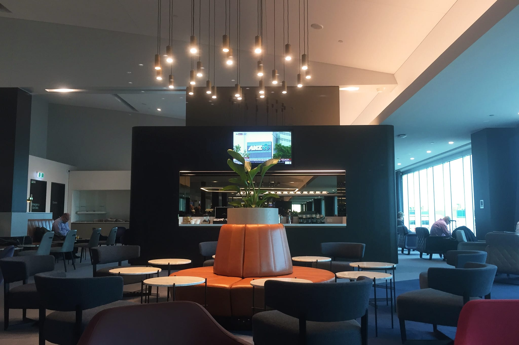 Qantas Business Class Lounge Melbourne