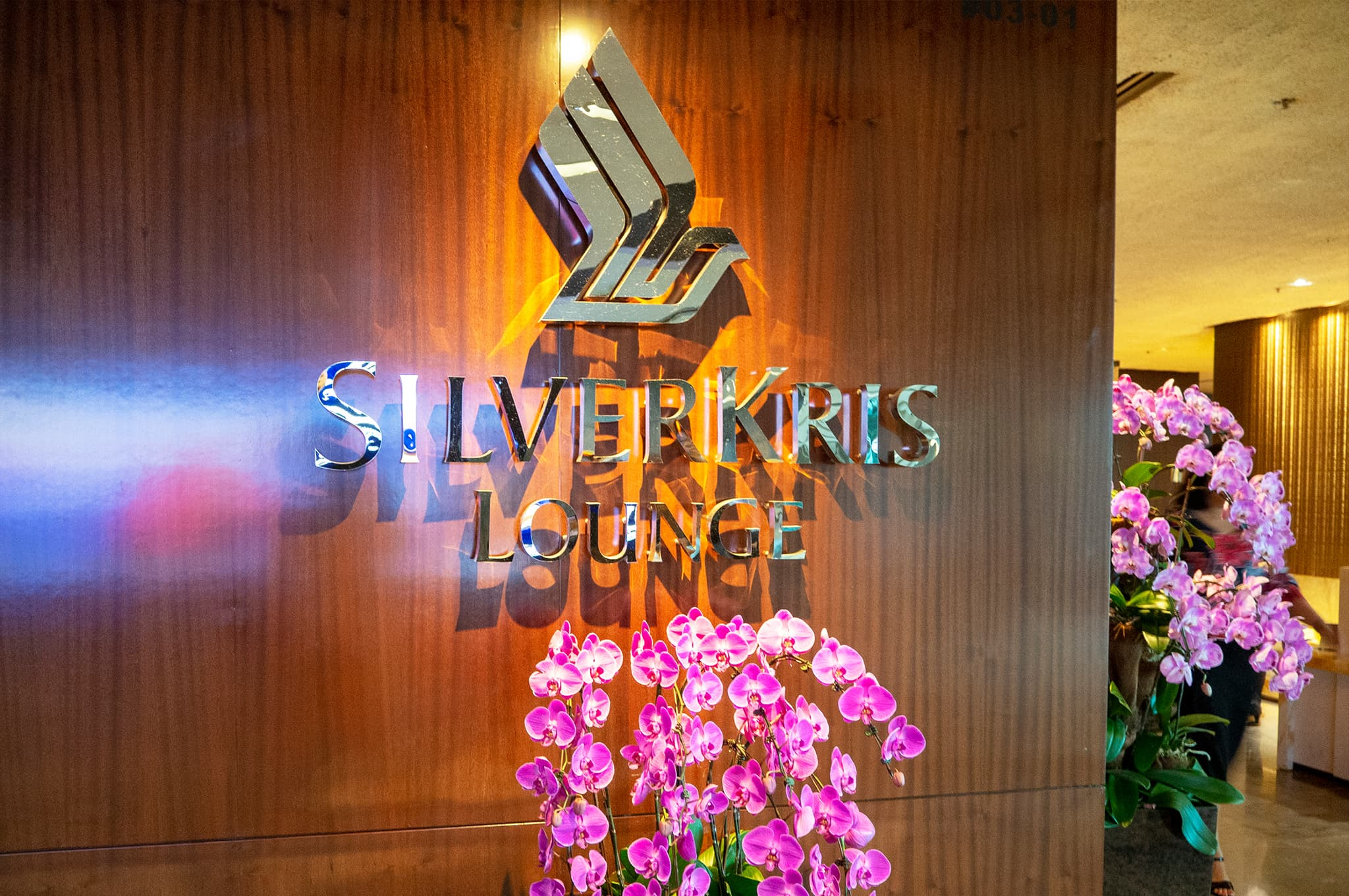 Singapore Airlines Business Class SilverKris Lounge T3 Changi Airport