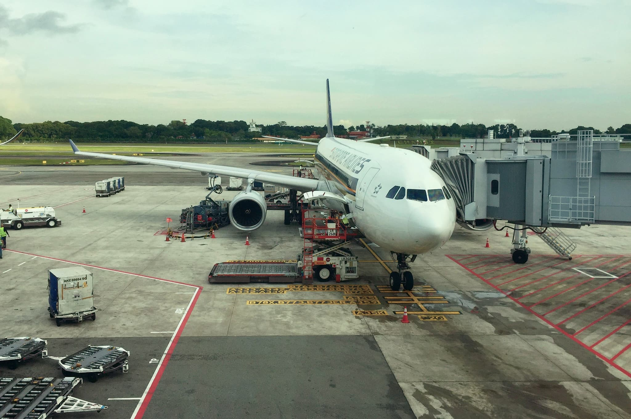 Singapore Airlines Changi A330