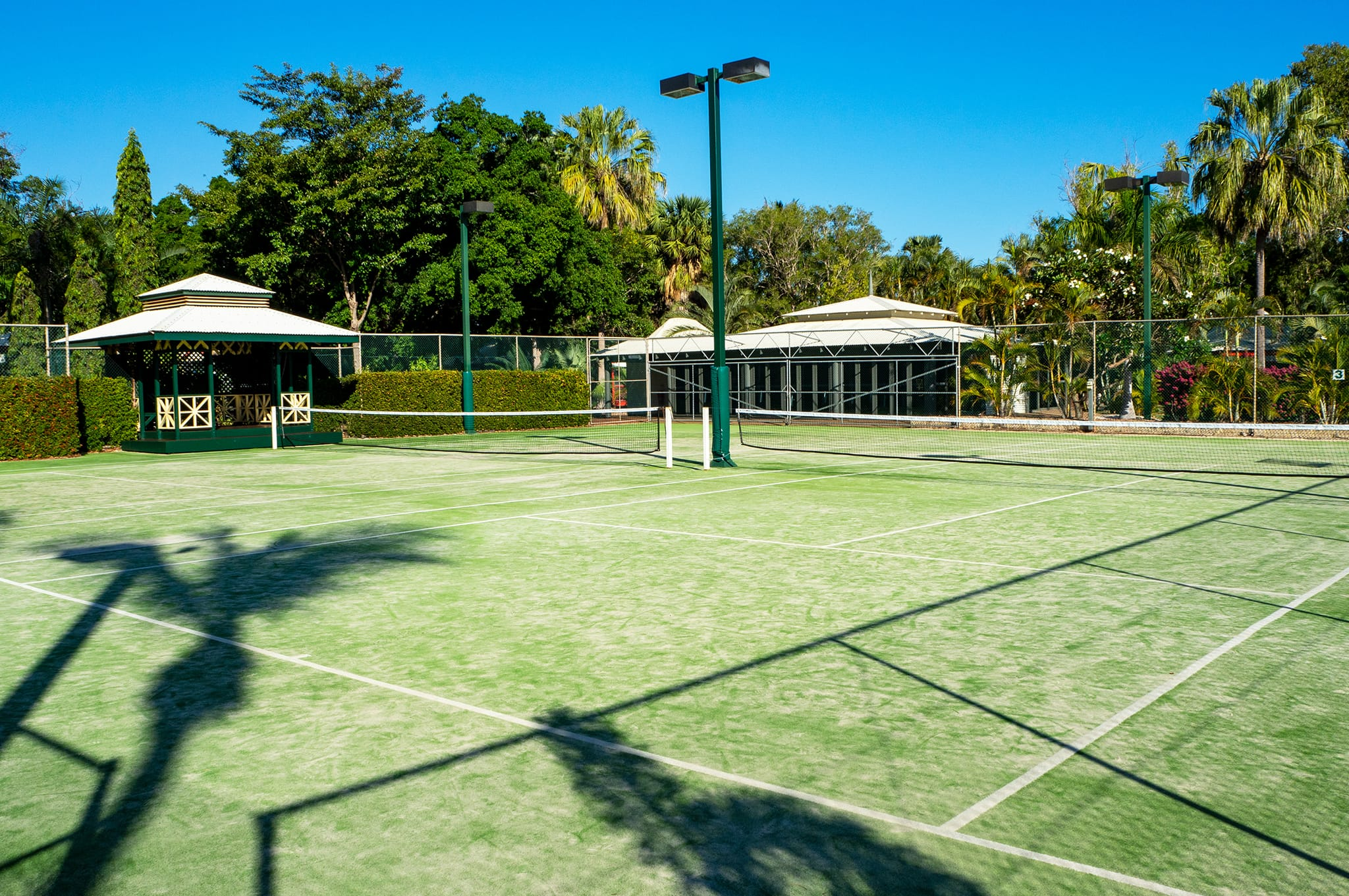 Cable Beach Club tennis court