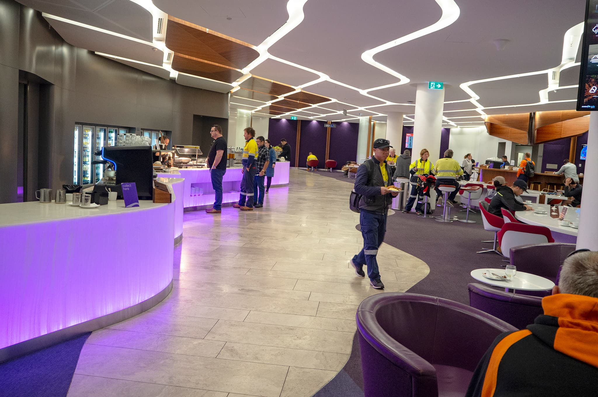 Virgin Australia Perth Lounge