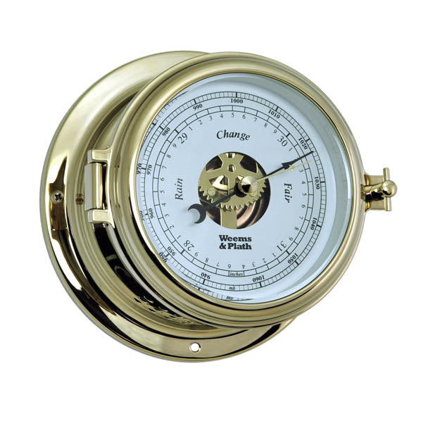 Endurance II 115 Open Dial Barometer by Weems & Plath