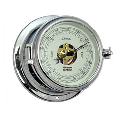 Endurance II 115 Chrome Open Dial Barometer by Weems & Plath