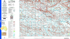 Turee Creek SF50-15 1:250k Topo