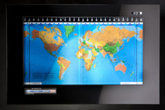 Original Kilburg Geochron Geopolitical - Powder Coated Finish