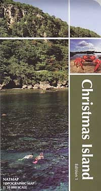 Christmas Island Geoscience Map